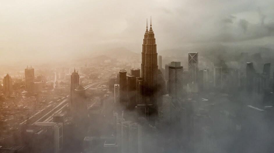 wpływ smogu na środowisko